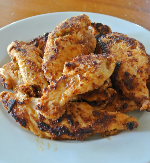 Texmex maustettua kanaa
