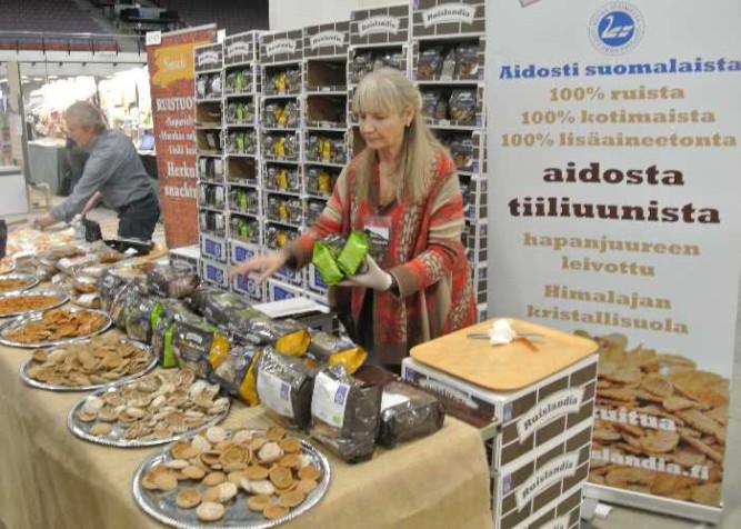 ruislandia lähiruoka ja luomumessuilla