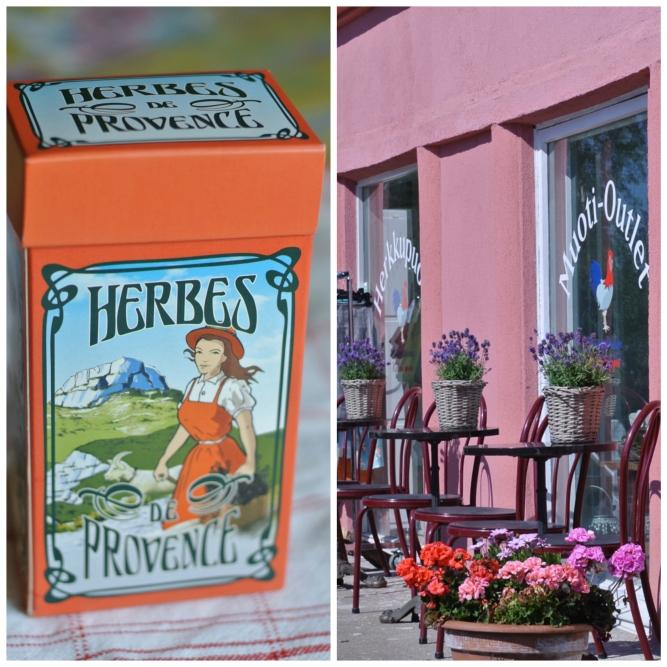Ranskalainen kyläkauppa ja Provences yrttisekoitus