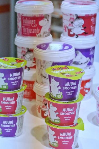 Roberts Muumi-smoothiet ja hillot