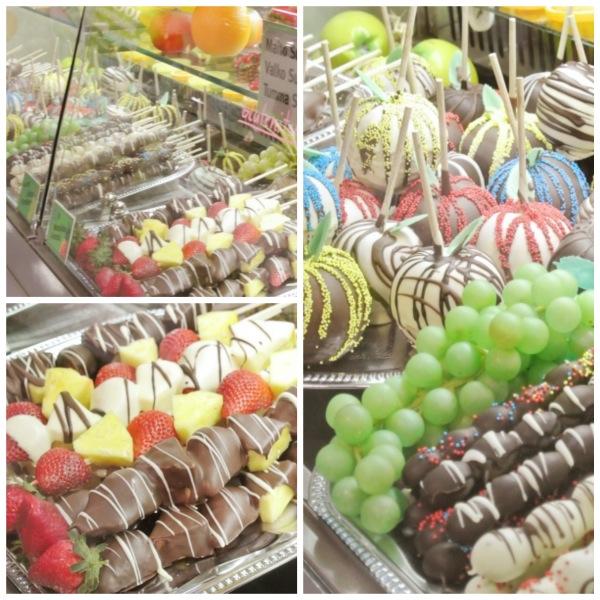 Fruit-Factory suklaiset hedelmät ja marjat