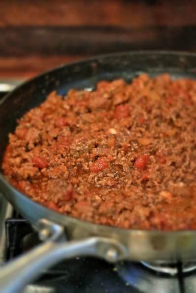 Chili con carne paistinpannulla