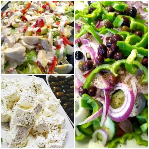 kreikkalaisia salaatteja